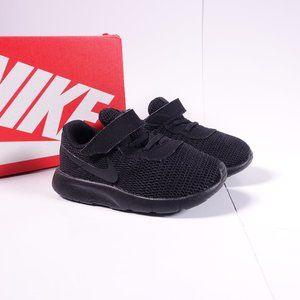 Nike Tanjun TDV Shoes Hook and Loop Triple Black